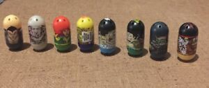 Mighty Beans Beanz Lot Of Eight 8 Marvel And Others Tribal Warrior 2010