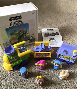Fisher Price Little People Easter Train Set Complete In Box w/ Instructions