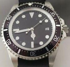 Parnis Hommage Automatic GMT Uhr/Watch !! NEW !! Mit Seagull Werk Submarine