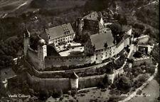 Coburg Bayern AK ~1950/60 Luftbild Fliegeraufnahme Burg Veste Burganlage Bauwerk