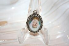 Silver Medal to add to Rosaries/Bracelets/Zipper Pulls/Our Lady Good Success # 3