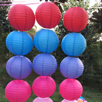 """Multicolor Chinese paper Lanterns Wedding Party Decoration 10"""" 12"""" 16"""" Leo VC"""