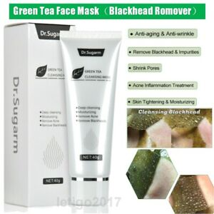Dr.Sugarm Green Tea Face Mask Remove Acne Blackhead Nose Deep Cleansing Pore