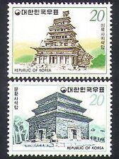 Korea 1978 Pagoda/Temple/Buildings/Architecture/Heritage/Religion 2v set n37032