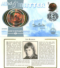 5 SEPTEMBER 2000 MIND AND MATTER BENHAM FDC SIGNED BY AUTHOR IAN RANKIN