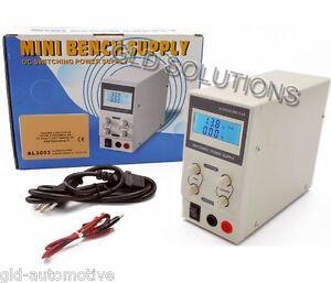 ALIMENTATORE Switching da LABORATORIO 0-30V/0-3A  con display LCD