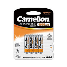 PROMOTION : 8 accus AAA/LR3 1100mAh CAMELION + Boites