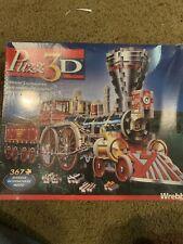 PUZZ 3D Puzzle Steam Locomotive Train 367 Pieces Wrebbit RARE sealed box