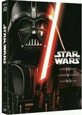 STAR WARS TRILOGIA EPISODIOS IV V VI 4, 5, 6 [DVD] NUEVO ( SIN ABRIR ) GALAXIAS