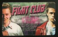 Fight Club Membership Card Movie Joke ID Brad Pitt Ed Norton License to Kill