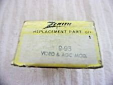 RADIO Zenith REPLACEMENT parts repair 9-95 VIDEO & AGC MOD. REMANUFACTURED