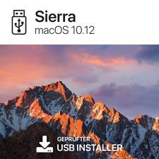 macOS 10.12 Sierra Mac OS Boot USB Stick BLITZVERSAND