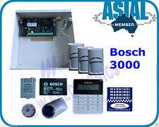 BOSCH ALARM Solution 3000 Kit 16 Zone 3PIR ALPHA TEXT KEYPAD Free Programming
