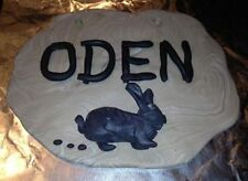 Custom Made Pet Cage Name Signs Rabbit Chinchilla Guinea Pig Mouse Rat
