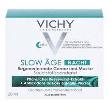 VICHY SLOW Age Nacht Creme und Maske 50ml bei Hautalterung PZN 13825452 + Proben
