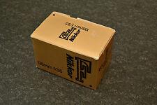 nikon box, 135 3.5, only box, exellent