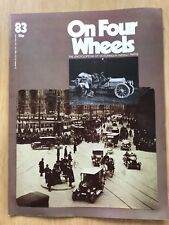 ON FOUR WHEELS MAGAZINE 1975 EDITION 83 BRILLIANT CONDITION inc Panther