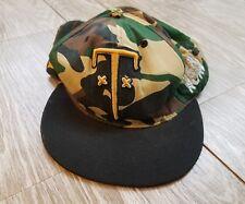 Trukfit Camo Snapback Cap Hat Respect Few Fear None Adjustable