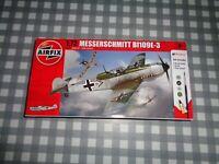 Airfix Messerschmitt Bf109e-3 Kit 1:72 A68205,new