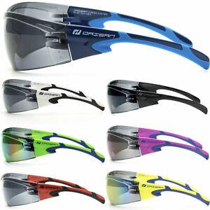 Daisan® SafeTRAX – UV 100% Sportbrille Radbrille Fahrrad Sportstyle Sonnenbrille