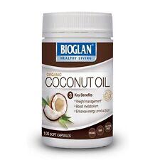 Bioglan SuperFoods Coconut Oil Tablets 100s - Medium Chain Triglyceride Burn Fat