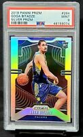 2019 Prizm RC SILVER REFRACTOR Pacers GOGA BITADZE Rookie Card PSA 9 MINT