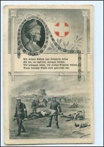 U9010/ Rotes Kreuz 1. Weltkrieg AK Kaiser Victoria 1916