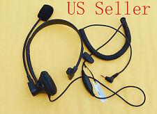 VOX Over-Head Headset/Earpiece Boom Mic Motorola Radio MD200 MS350 MS355 MT350