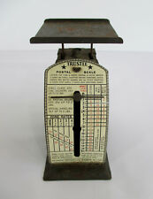 1940s Mini TRUSTEE POSTAL SCALE Eastern Metalcraft Antique Waterbury Connecticut