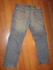 levi's 505 regular fit jeans 34 30