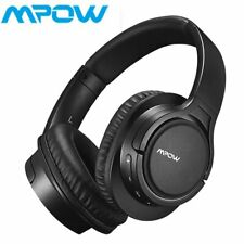 Mpow H7 Bluetooth Headphones Over Ear Stereo Wireless Headset with Microphone Us