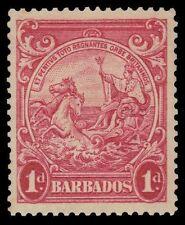 """BARBADOS 194b (SG249) - Colonial Badge """"Perf 13.5x12.5"""" (pf31868) $195"""