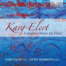 SARA/MARRONI,ELISA LIGAS - COMPLETE MUSIC FOR FLUTE 2 CD NEU KARG-ELERT,SIGFRID
