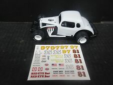 #97 Red Eye Bar Coupe Modified 1/25th scale Die-Cast donor kit