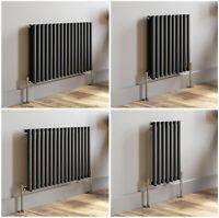 Horizontal Designer Oval Column Radiators Double & Single Central Heating Panel