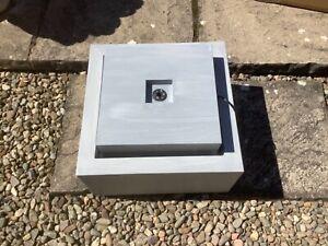 M&S Zinc Lit Cube water feature