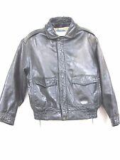 "Wilson's  ""Adventure Bound Originals"" leather  flight jacket similar A2 size 48"
