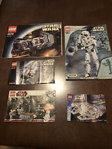 Bulk Lego Star Wars Vintage Instructions