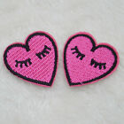 Beauty 2Pc DIY Bird & Flower Sewing Embroidered Sew Iron On Applique Patches NEW