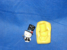 Cat Kitty Dress Up Silicone Mold #11 For Chocolate Candy Resin Fimo Soap Candle