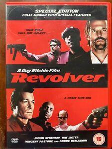 Revolver DVD 2005 Guy Ritchie British Crime Movie w/ Jason Statham + Ray Liotta