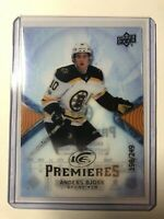 2017-18 Upper Deck Ice Premieres Anders Bjork Boston Bruins Rookie /249