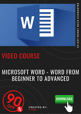 Microsoft Word - Word from Beginner to Advanced video training course tutorial