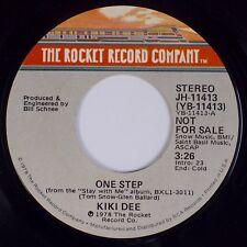 KIKI DEE: One Step USA Rocket Company PROMO Not For Sale 45 Rock Pop
