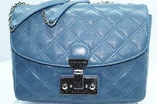 New Marc Jacobs Crossbody Mini Polly Bag Blue Handbag Shoulder