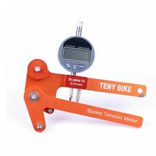 New Universal Bike Bicycle Spoke Tension Meter Bikes Wheel Builders Repair Tools