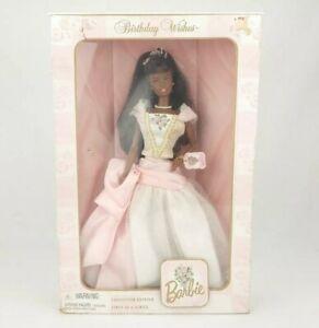 Mattel AA Barbie Birthday Wishes 1999 Special Edition Fashion Doll BNIB
