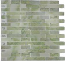 Crystiles Peel and Stick Self-Adhesive Vinyl Wall Tiles Item# 91010842, 10� X 10
