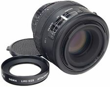NIKON Sigma AF 90mm 2.8 Macro + 1:1.1 True Macro Life Size Lens Attachment
