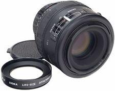 NIKON Sigma AF 90mm 2.8 Macro + 1:1.1 True Macro Life Size Lens Attachment